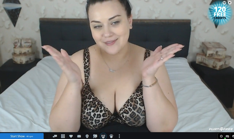 Flirt4Free offers HD quality rooms, a dedicated BBW category and mobile with c2c