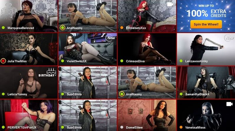 Fetish live chats with tough doms who will punish you - LiveJasmin