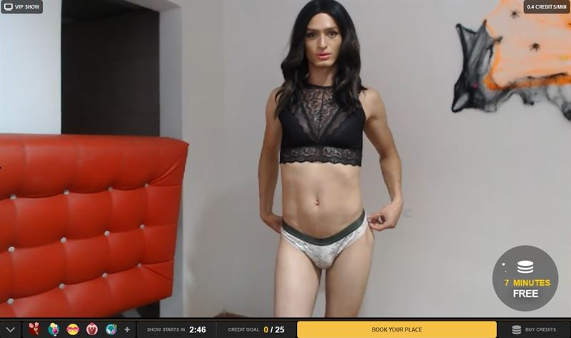 Shemale VIP sex shows on MyTrannyCams