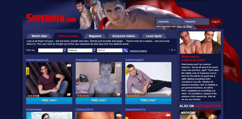 Gay webcam sex chat rooms