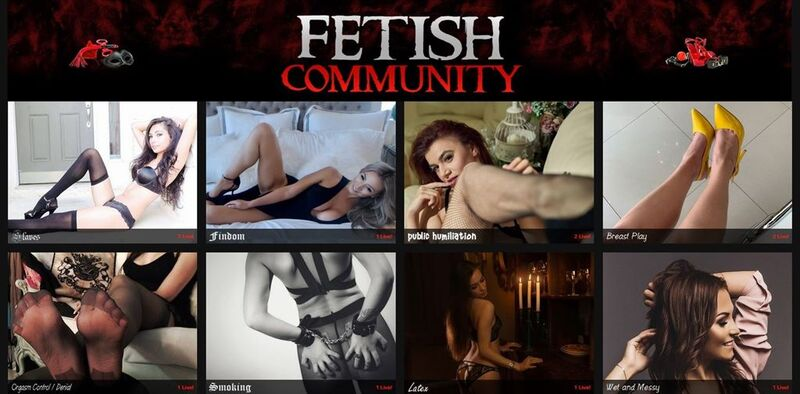 Flirt4Free's Fetish Community - live HD shows